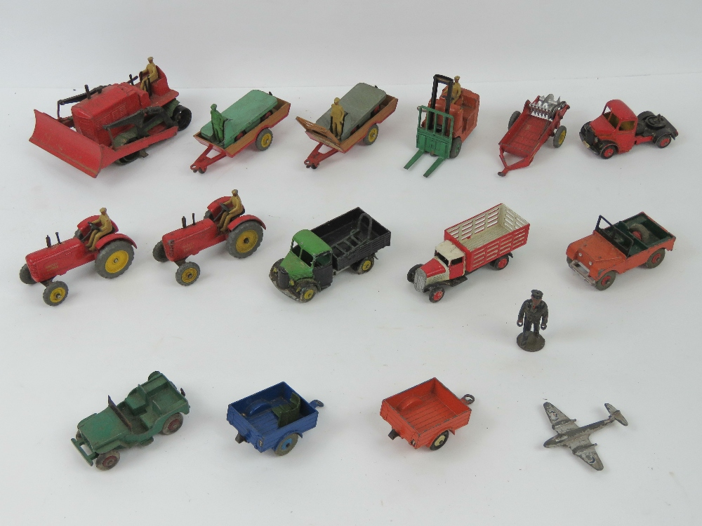 Lot 67 - Dinky Toys - Farm & Agricultural Vehicle