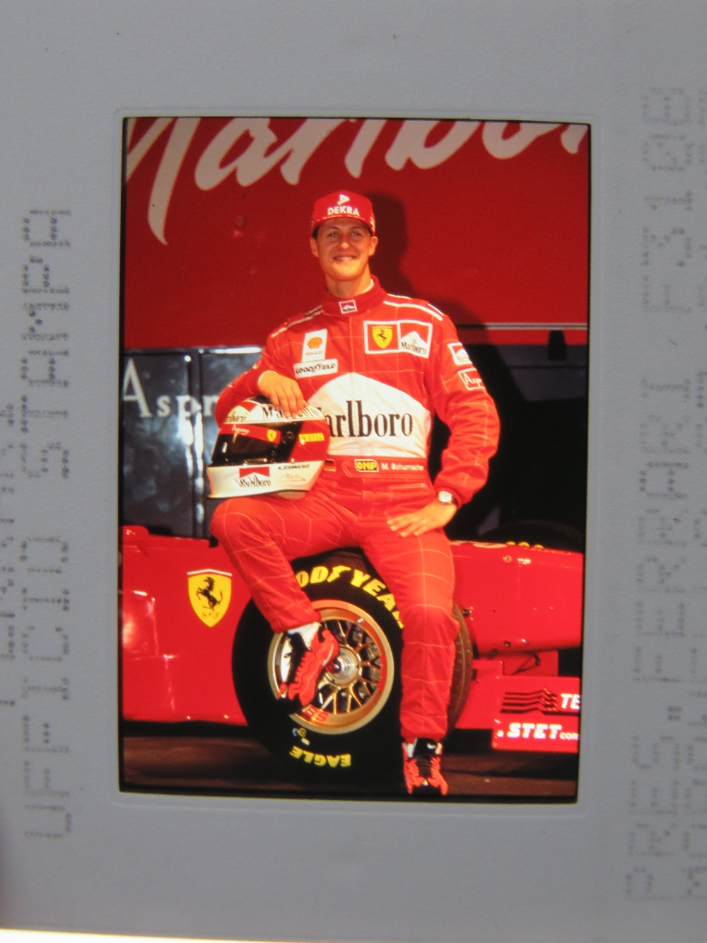 Lot 105 - Six assorted F1 themed VHS videos, toget