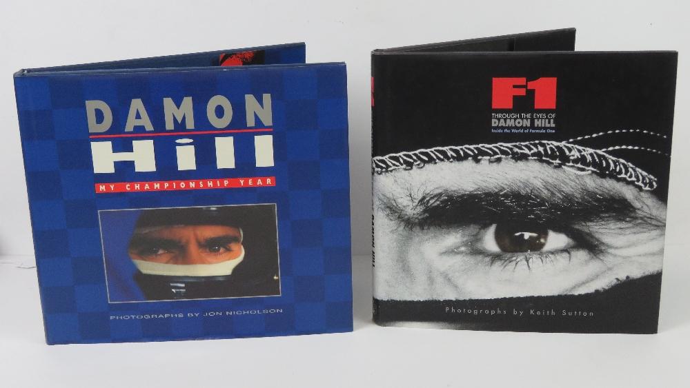 Lot 47 - Books; 'F1 through the eyes of Damon Hil
