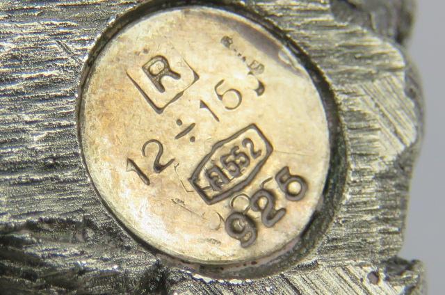 Lot 43 - A 925 Italian silver centrepiece in the