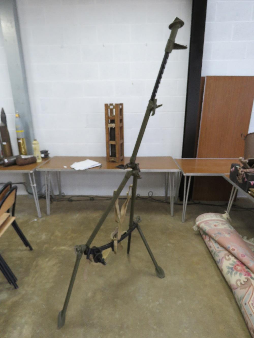 Lot 50 - A WWII British Bren gun having carry str