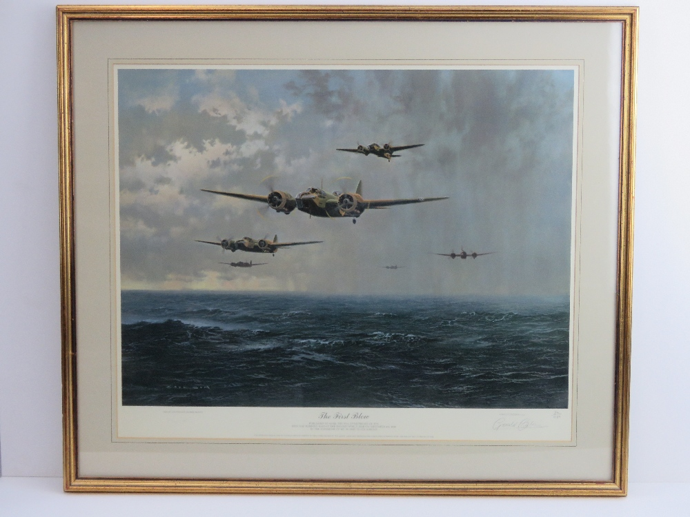 Lot 116 - A framed limited edition print. The Firs