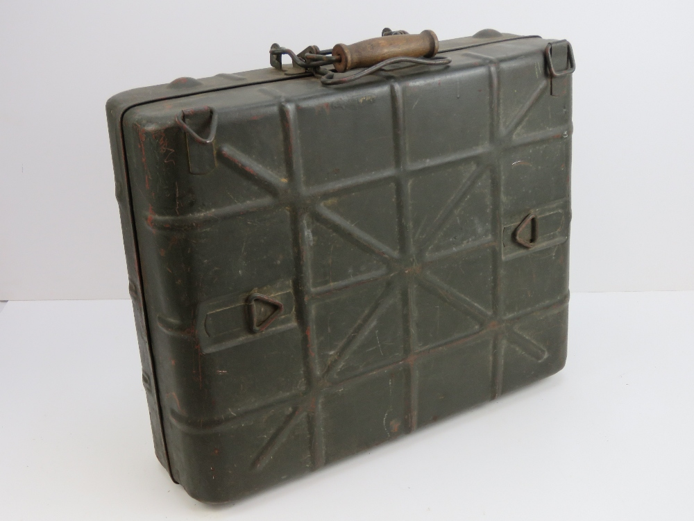 Lot 21 - A WWII German Infantry issue stick grena