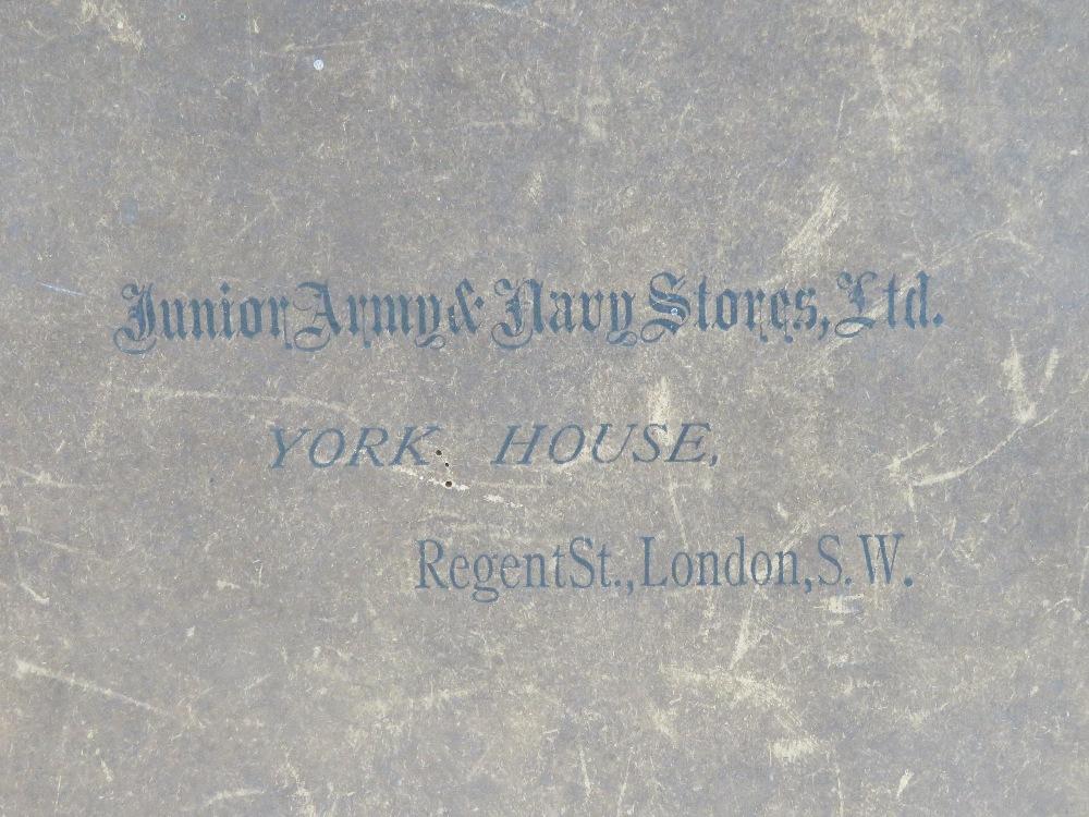 Lot 107 - A Junior Army & Navy Stores Ltd cardboar