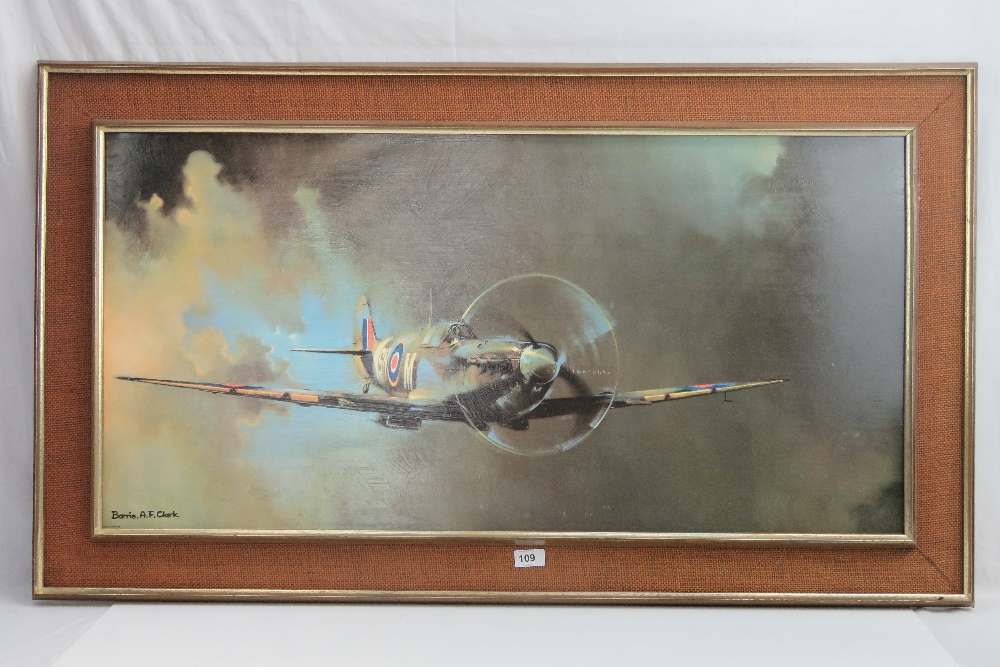 Lot 109 - Print; Off Duty Lancaster at Rest by Ger