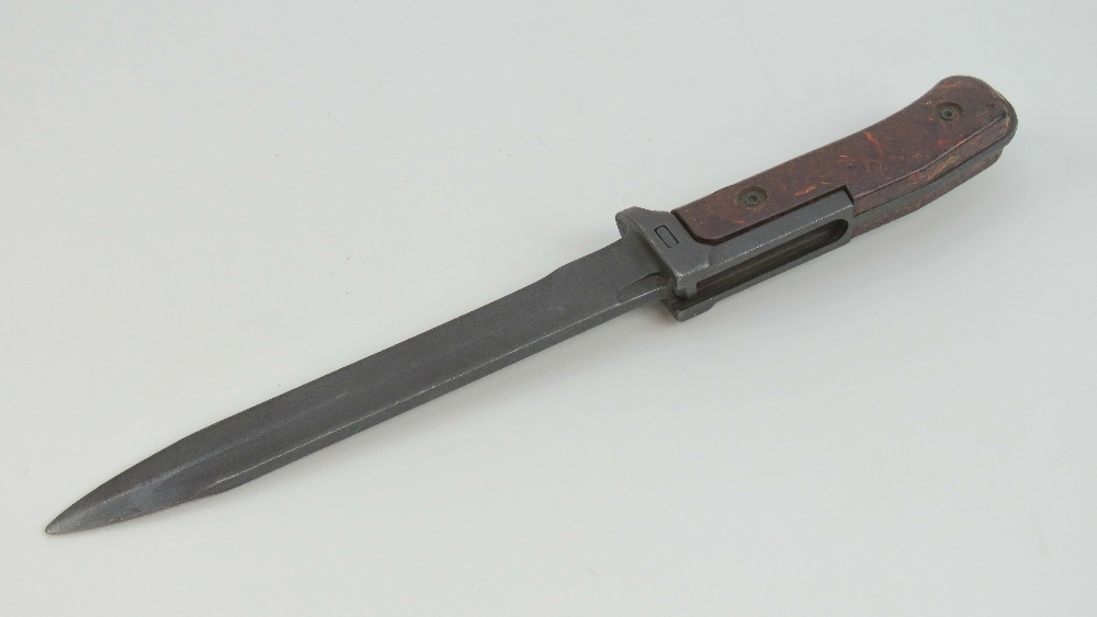 Lot 30 - Two CV58 bayonets one with scabbard, one