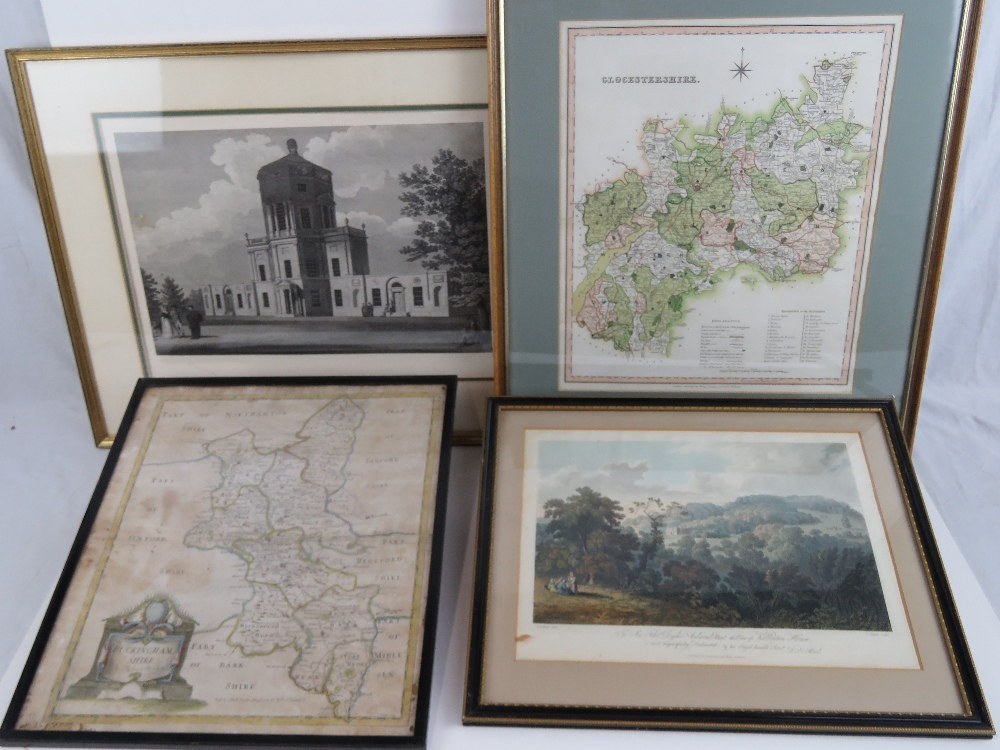 Lot 724 - A late 19th Century of a hand coloured m