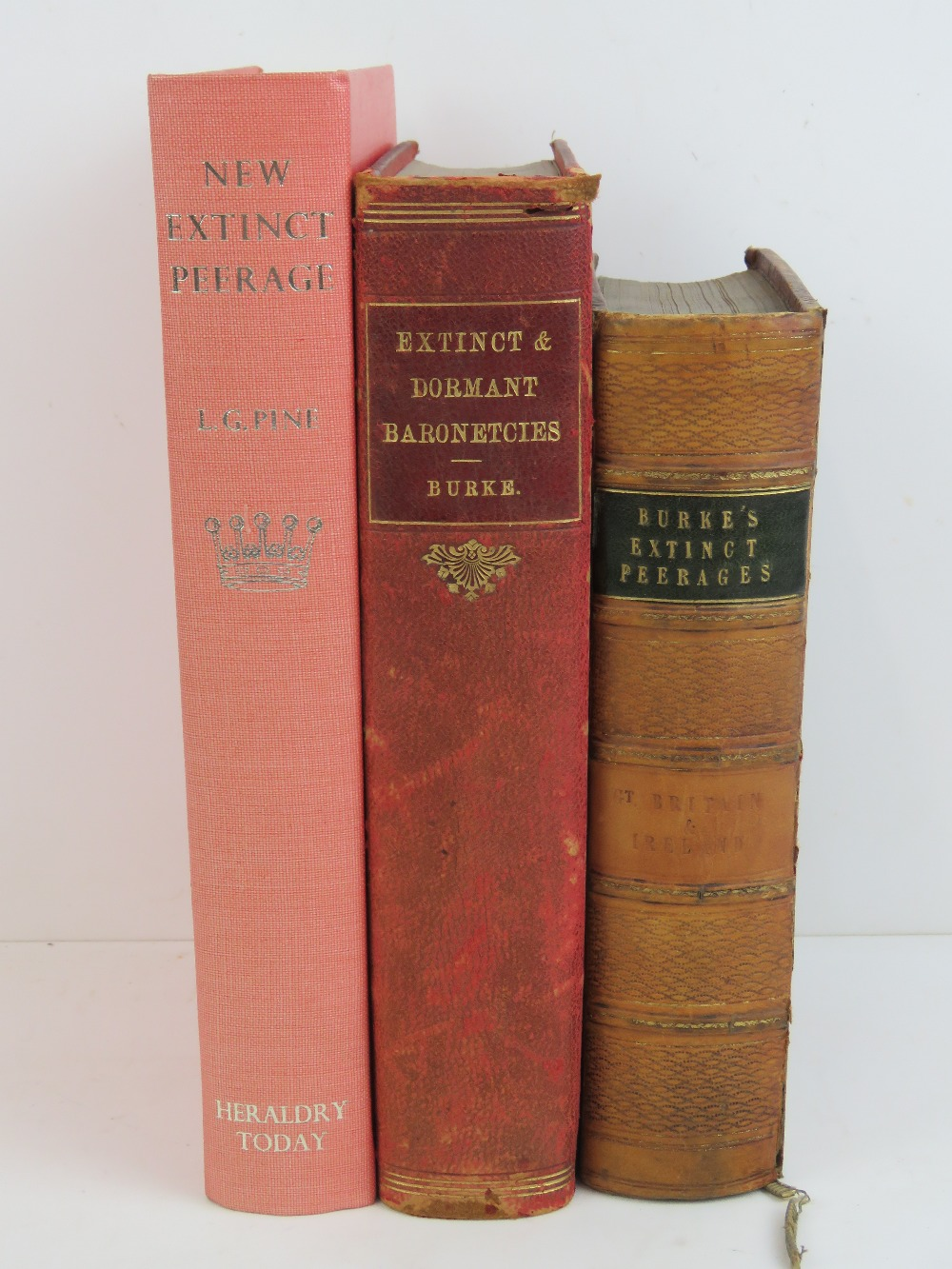 Lot 727 - Books; Birkes 'Extinct Peerages' 1840, l