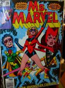 """MARVEL COMICS """"MS. MARVEL- EVEN AVENGERS CAN DIE"""" 1978 (18-02198) TOGETHER WITH POWER MAN AND"""