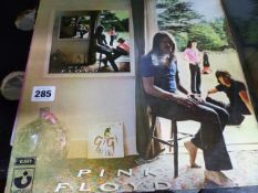 LP RECORDS. TOMMY- THE WHO, ROXY MUSIC, PINK FLOYD - TEN YEARS AFTER, PROCOL HARUM AND MAHAVISHU
