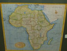 AFRICA 1789, A HAND COLOURED MAP OF THE CONTINENT WITH NAMED COUNTRIES AND REGIONAL DIVISIONS WITHIN