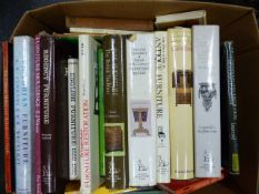 BOOKS ON FURNITURE, CLOCKS, BAROMETERS AND OTHER VOLUMES.