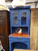 A SMALL PAINTED DRESSER.