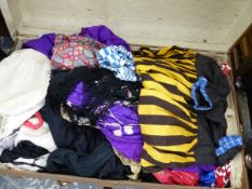 A BOX OF VARIOUS COSTUME.
