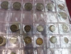 A QUANTITY OF ANTIQUE AND LATER PRE DECIMAL COINS.