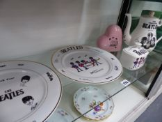 VARIOUS BEATLES RELATED CERAMICS.