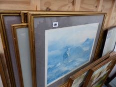 A SET OF FOUR PRINTS AFTER ARCHIBALD THORBURN.
