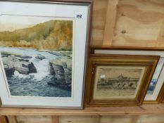 VARIOUS DECORATIVE PRINTS AND PICTURES TO INCLUDE LIMITED EDITION,ETC.