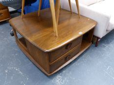 AN ERCOL COFFEE TABLE.