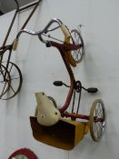 A CHILD'S TRICYCLE.