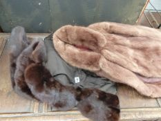 TWO FUR JACKETS.