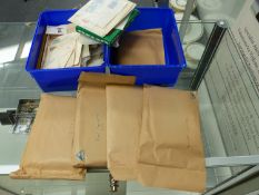 A QUANTITY OF STAMPS TO INCLUDE BRITISH POST OFFICE MINT STAMPS, FIRST DAY COVERS, HALLEY BAY, LOOSE