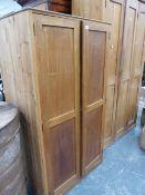 A TWO DOOR CABINET.