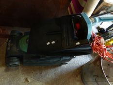 A HAYTER MOWER AND A BLACK AND DECKER STRIMMER