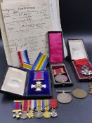 MEDALS. Lt.Col. HAROLD TWEEDALE CUNNINGHAM. A GOOD HISTORICAL DSO GROUP WITH HISTORY AND PROVENANCE.