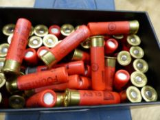 A COLLECTION OF ELEY FOURTEN AND 12 BORE CARTRIDGES WITH OTHERS BY HK, CHURCHILL AND OTHER GUN