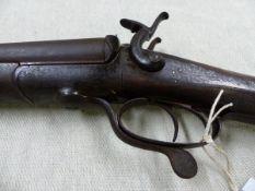 AN ENGLISH DB.12B PINFIRE SHOTGUN No.694.