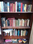 A QTY OF BOOKS.