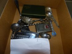 CONTINENTAL SILVER SPOONS,ETC.