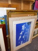 A QTY OF FURNISHING PRINTS, FRAMES,ETC.