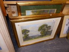 A PASTEL STUDY BY STUBBINGS AND ONE OTHER.