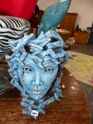 CONTEMPORARY MASK SCULPTURE.