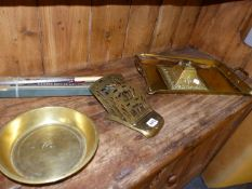ART NOUVEAU AND OTHER BRASSWARES.