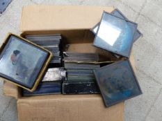 A SELECTION OF LANTERN SLIDES TO INCLUDE JACK AND THE BEANSTALK, ETC.
