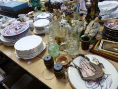 A LARGE QTY OF BOXED CUTLERY, TEAWARES,ETC.