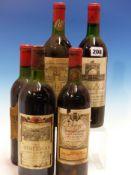 WINE. CHATEAU RAUZAN GASSIES 1970 1 x BOTTLE, ALBERT BICHOT, MINERVOIS 1983 1 x BOTTLE, GRAND VIN