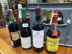 WINE AND SPIRITS TO INCLUDE CHATEAU BRIDAUE 1988, CHATEAU BELLEVUE FAUEREAU 2000, VINA TONDONIA
