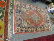 A PERSIAN MAHAL RUG 201 x 130cms.