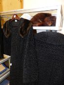 FUR STOLES AND TWO FUR COATS BY ASTRA, PARIS.