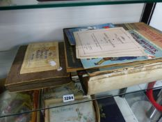 CIGARETTE CARDS, MAGAZINES, A BIBLE AND A FEZ