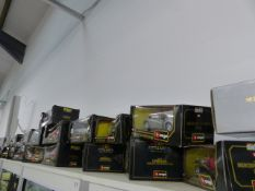 A LARGE COLLECTION OF BURRAGO MODEL CARS.