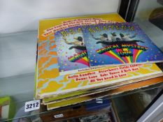 EIGHT BEATLES LPS AND AN EP