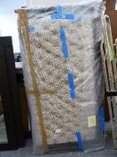 A PAIR OF BUTTON UPHOLSTERED HEADBOARDS.