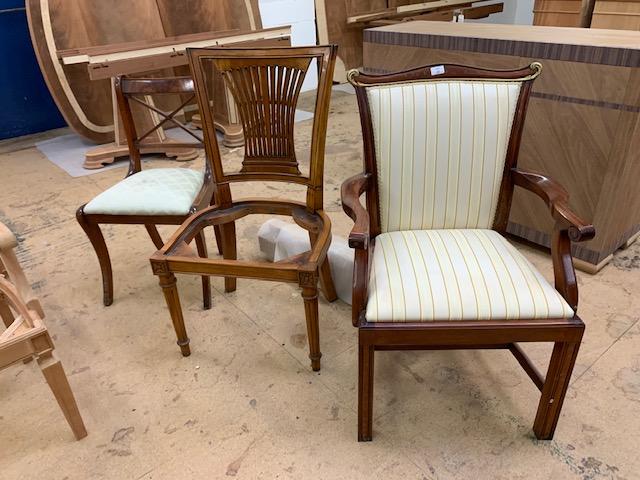 Lot 40b - Three various Chairs
