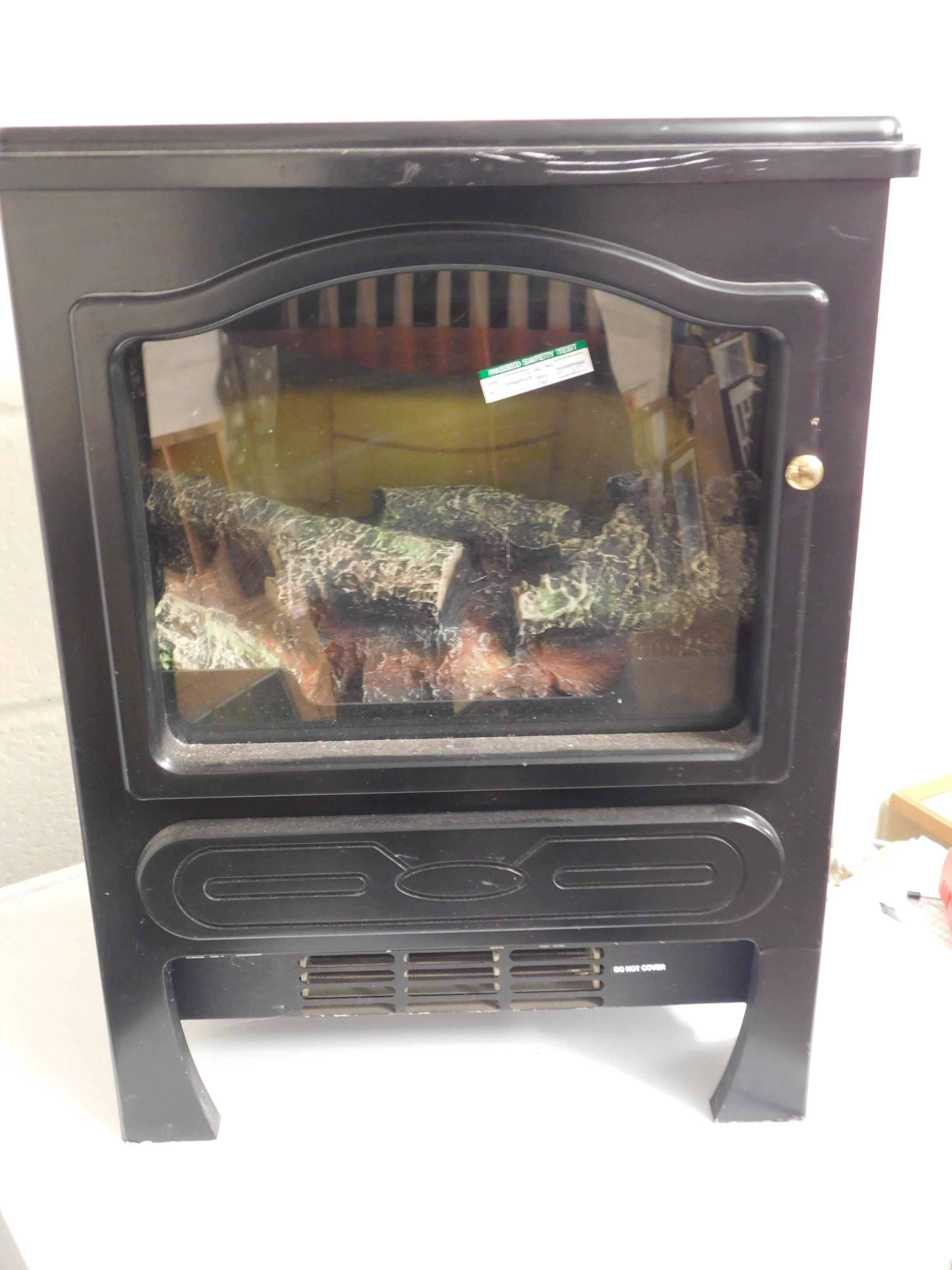 Lot 75 - SMALL ELECTRIC FIRE