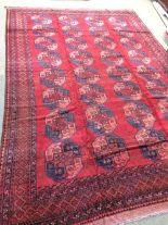 Lot 714 - Antique Afghan carpet circa 1900 4.10 X 2.93m